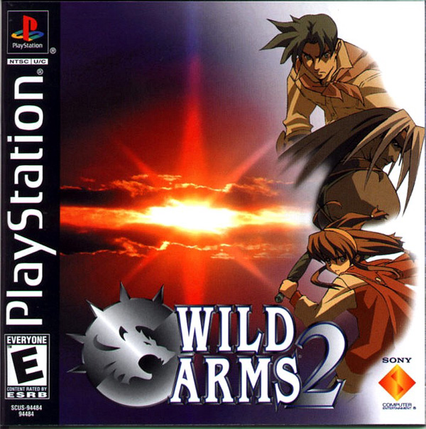Wild Arms 2 [NTSC-U] [Disc1of2] Front Cover